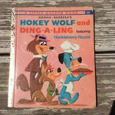 VTG Little Golden Book Hokey Wolf and Ding-a-Ling 1961