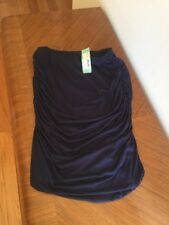 Stitch Fix MP Navy Blue Ruched Skirt