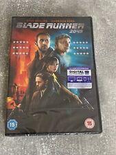 Blade Runner 2049 DVD (2018) Harrison Ford Brand New Sealed