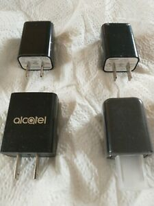 Phone Wall Charger 5V 1A USB Wireless Gear New 4 pcs