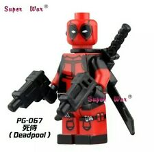 Lego COMPATIBILE : MiniFigures Supereroi MARVEL DEADPOOL