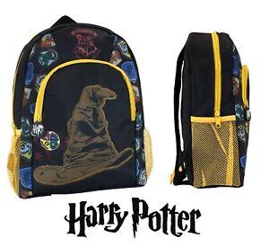 Harry Potter Character Junior School Backpack Hogwarts Wizard Rucksack Bag NEW