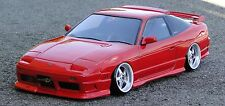 D-Like 1/10 RC NISSAN 180SX 190mm Clear Body Drift Hashiriya Pandora Yokomo