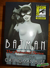 SDCC 2015 BATMAN THE ANIMATED SERIES CATWOMAN B&W BUST ALMOST GOT 'IM LE 1100