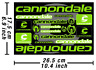 Cannondale Decal Stickers Bicycle Graphics Autocollant Aufkleber Adesivi #3 /593