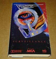 TRIUMPH, Surveillance, 1987 CASSETTE, PLAY TESTED