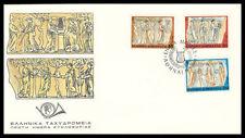 The Nine (9) Muses 1991, Calliope Erato Thalia Urannia Polyhymnia Eyterpe, FDC.