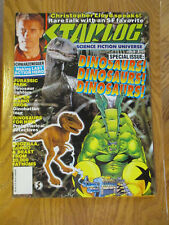 STARLOG AUGUST 1993 #193 DINOSAURS - JURASSIC PARK + CHRISTOPHER LLYOD INTERVIEW