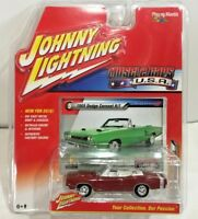 Johnny Lightning Muscle Car USA Red 1969 Dodge Coronet R/T 1:64 2016 Convertible