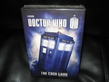 BBC Doctor Who Card Game by Martin Wallace NIB