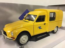 Citroen Acadiane la poste Yellow 1 18 escala solido S1800405