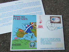 The COMET Line  PYRENEES  1972 Hand Signed  RAF Escaping Society FDC - SEE PICS