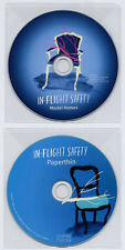 IN-FLIGHT SAFETY Set of two 2011 UK promo CDs Model Homes Paperthin
