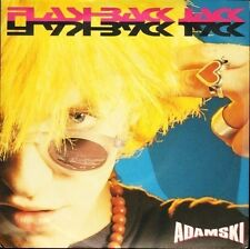 "ADAMSKI flashback jack/nycnrg MCA 1459 uk mca 1990 7"" PS EX/VG+"