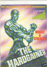 HARDGAINER #1 bodybuilding muscle strength PREMIERE magazine 7-89