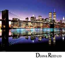 Brooklyn Bridge (Colour) - Mini Poster - 40cm x 50cm MPP50323 - M10