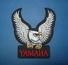 `YAMAHA BIKER` SEW OR IRON ON PATCH