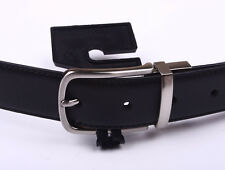 NIKE MENS GOLF REVERSIBLE BELT BLACK/BROWN FAUX LEATHER SIZE 36,38 DS6010002