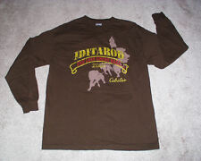 IDITAROD THE LAST GREAT RACE 2007 MENS LONG SLEEVE T SHIRT SIZE LARGE, PRISTINE