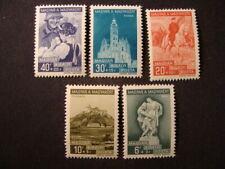 Hungary Stamps SCOTT B98-102
