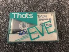 New Sealed That's BLANK 46 EVE-I Elite 1986 Cassette Tape Vintage MADE IN JAPAN