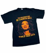 The Miseducation of Lauryn Hill World Tour 2018 T Shirt Concert Fugees 20th Sm