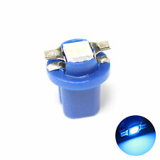 1x Blue 1-SMD LED [509t,U509TB, B8.5] 12v Dashboard Light Bulb