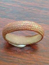 Ancient Viking Bronze Ring Uk Size V 4.2grams