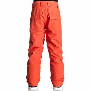 Quiksilver Snowboard JR Pants Ski Water Resistant Warm Breathable Snow Practical