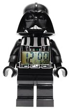 Darth Vader Clock Lego Digital Mini Figure Star Wars Alarm Dark Side Force Movie