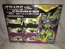 Transformers Vintage G1 Constructicon Devastator 1985 - Complete Set