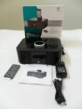 Logitech S400i 30-Pin iPod/iPhone Alarm Clock Speaker Dock w/ Remote Control