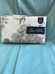 Christy Oxford Rectangle Pillowcases Pair In Dusk Anya Pattern NWT
