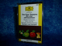 Vivaldi: The Four Seasons Die vier Jahreszeiten Karajan RARE AUDIO CASSETTE TAPE