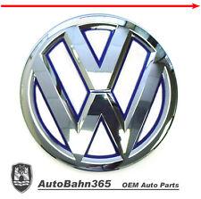 New Genuine OEM VW Emblem Jetta-Hybrid 2013-2014 MK6 Front Grill Blue Trim Badge