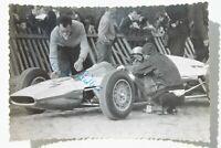 34272 Foto Auto Rennen Foto Autografo Frieder Rädlein Am Melkus 63 Wartburg 1963