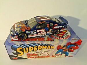 Superman Dale Earnhardt Jr 1:24 Limited Edition AC Delco Stock Car