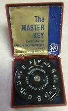The Master Key Chromatic Pitch Instrument A-440 - 13 Keys Mk1-F
