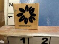 Flower bold daisy Stampin Up Rubber Stamp 8D