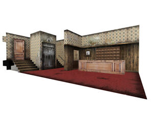 """Extreme-Sets Lobby Pop-Up 1:12 Scale Diorama for 6""""- 7"""" Action Figures - UK!"""