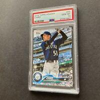 Ichiro Suzuki 2018 Topps Holiday #35 Seattle Mariners RARE Card PSA 10 Gem Mint