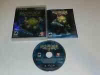 BioShock 2 Playstation 3 PS3 Video Game Complete