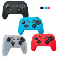 Nintendo Switch Pro Controller Grips, Silicone Protective Colour Skin Case Cover