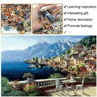 2020 Seascape Educational 1000 Piece Jigsaw Puzzles Puzzle Adults Toy Kids J3X4