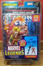 """Marvel Legends IRON FIST Red costume variant 6"""" toy Chase figure VERY RARE"""