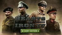 Hearts of Iron IV 4 Cadet Edition PC Steam GLOBAL [KEY ONLY!] FAST DELIVERY!