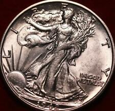 Uncirculated 1942-S San Francisco Mint Silver Walking Liberty Half