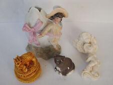 Konvolut Figuren, Porzellan, Putte, Drachen, Katze, porcelain figures,dragon cat