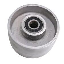 Silver Aluminum 125mm Dia Belt Grinder Tracking Wheel for Belt Sander