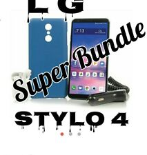 """Tracfone LG Stylo 4 6.2""""64GB +1 Yr of Service with 1500 chalk/text/data++ bundle"""